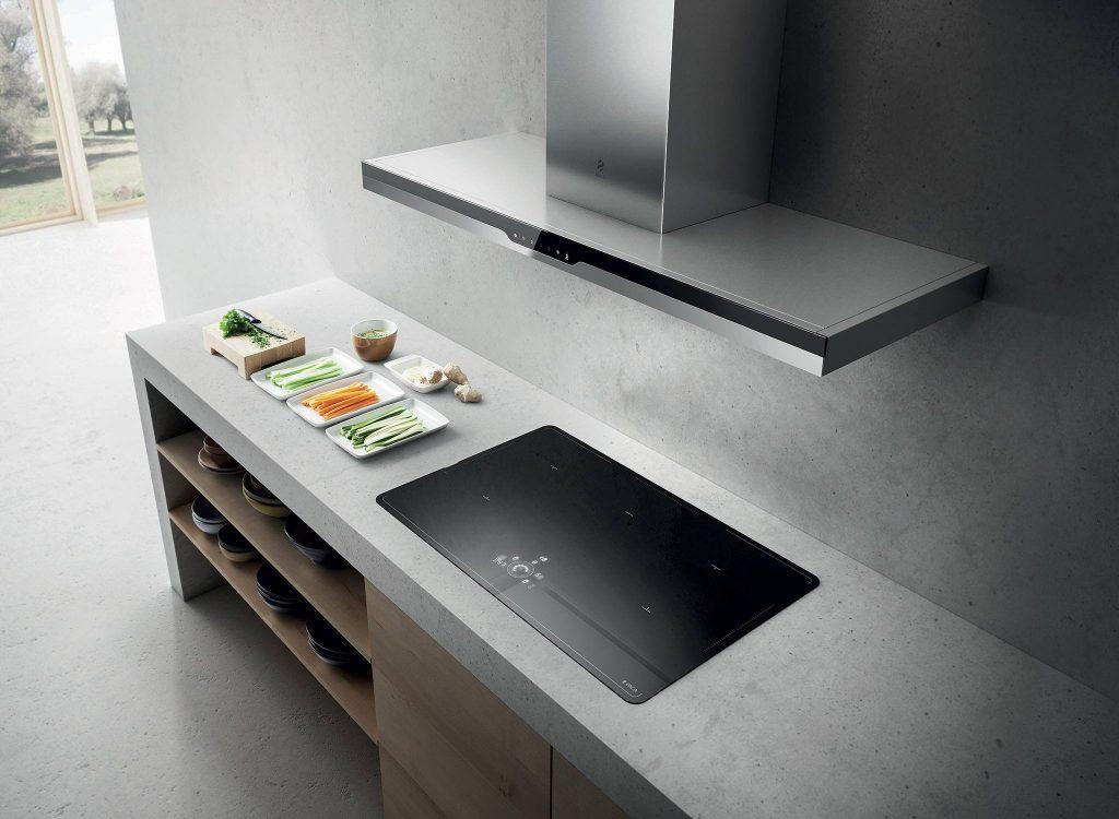 Reformas integrales de cocinas en tres cantos muebles de - Campanas esquineras de cocina ...