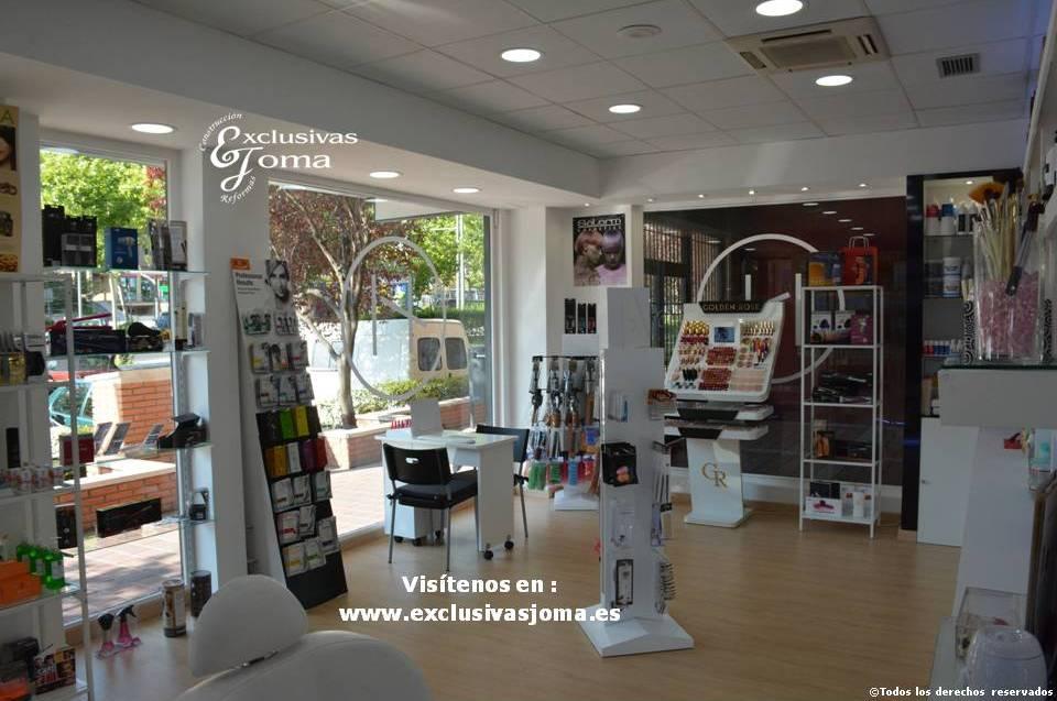 Exclusivas Joma reforma de tienda Hairlab en Tres Cantos, reforma tu local comercial con nosotros, decoracion, interiorrismo y reforma todo en uno (10)