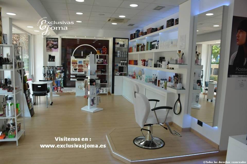 Exclusivas Joma reforma de tienda Hairlab en Tres Cantos, reforma tu local comercial con nosotros, decoracion, interiorrismo y reforma todo en uno (12)