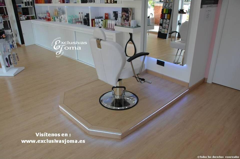 Exclusivas Joma reforma de tienda Hairlab en Tres Cantos, reforma tu local comercial con nosotros, decoracion, interiorrismo y reforma todo en uno (6)