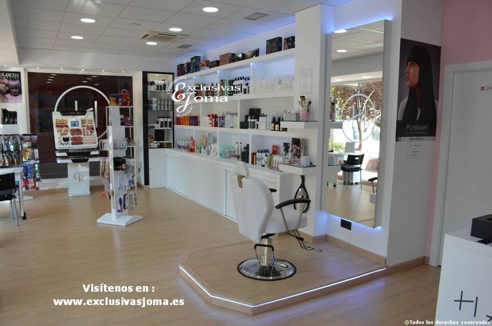 Exclusivas Joma reforma de tienda Hairlab en Tres Cantos, reforma tu local comercial con nosotros, decoracion, interiorrismo y reforma todo en uno (7)