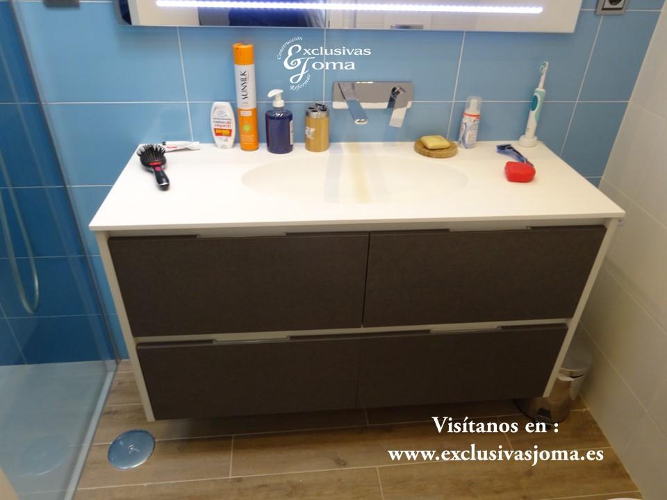 Reforma de baño tres cantos,Exclusivas Joma, muebles de baño a medida,baños 3cantos, reforma integrales, Kyrya,Spazia mamparas ducha  (5)