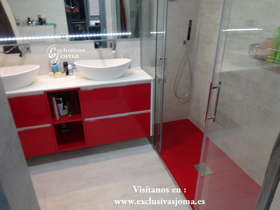 Muebles de ba o para lavabos sobre encimera for Muebles de bano a medida