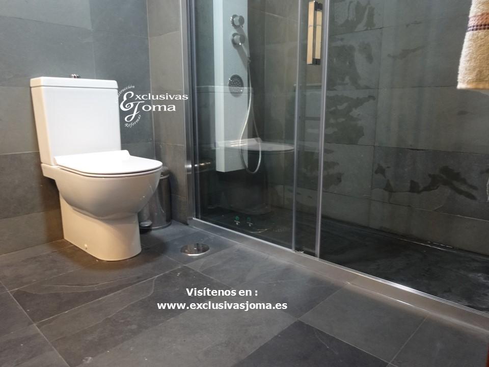 Reformas Tres Cantos, baños en pizarra natural, Catalano sanitarios 3c, Salgar mueble baño,Kassandra mampara,reformas en  3cantos (1)