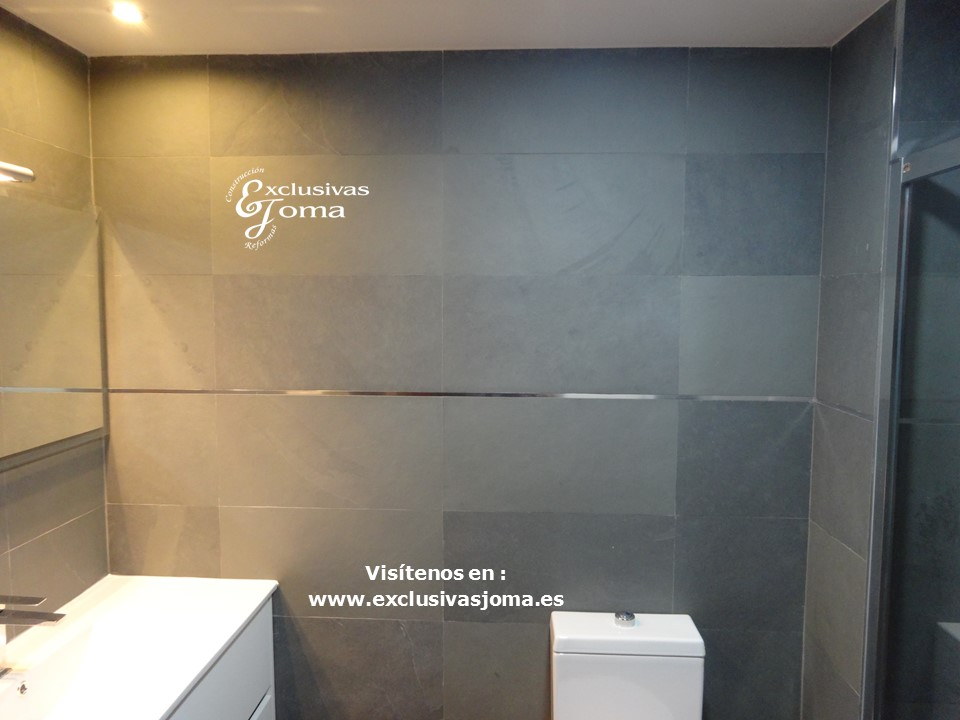 Reformas Tres Cantos, baños en pizarra natural, Catalano sanitarios 3c, Salgar mueble baño,Kassandra mampara,reformas en  3cantos (11)