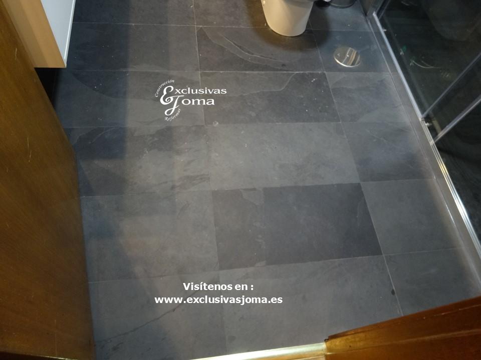 Reformas Tres Cantos, baños en pizarra natural, Catalano sanitarios 3c, Salgar mueble baño,Kassandra mampara,reformas en  3cantos (13)