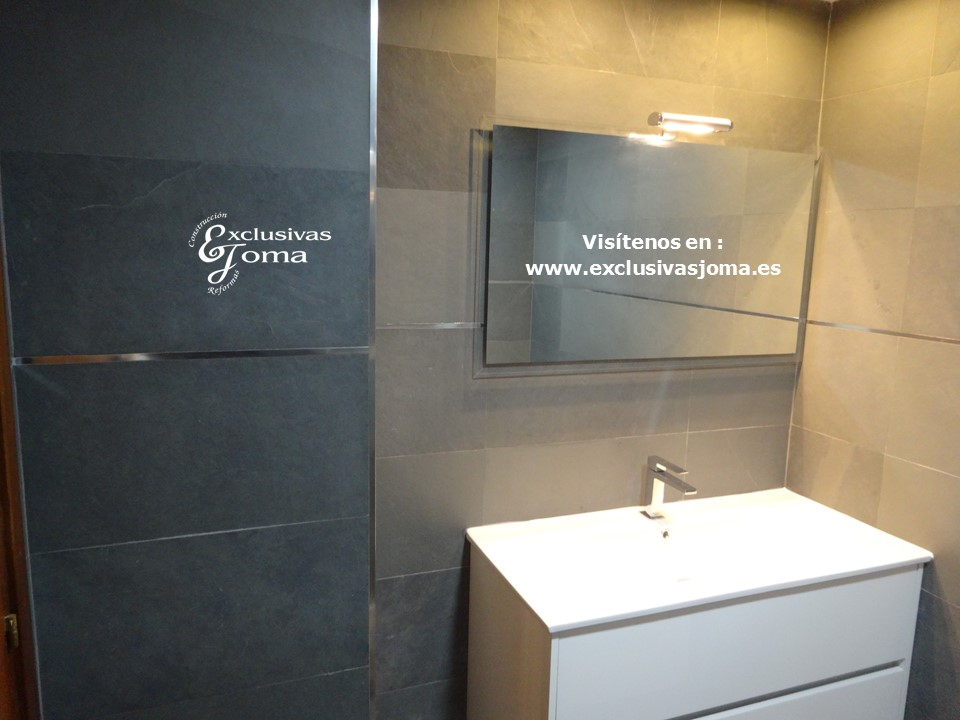 Reformas Tres Cantos, baños en pizarra natural, Catalano sanitarios 3c, Salgar mueble baño,Kassandra mampara,reformas en  3cantos (2)
