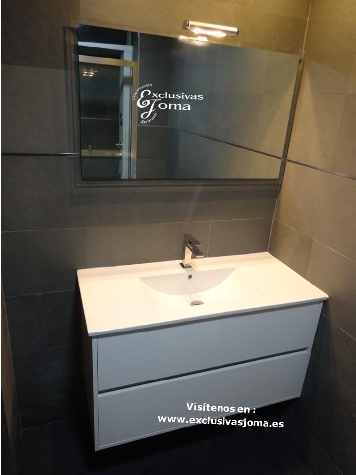 Reformas Tres Cantos, baños en pizarra natural, Catalano sanitarios 3c, Salgar mueble baño,Kassandra mampara,reformas en  3cantos (3)