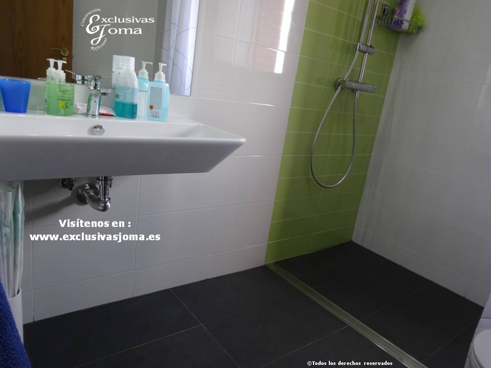 Reformas de baño integrales, acceso a discapacitados,baños discapacitados, baños minusvalidos, desague continuo baños, slutter desagues, exclusivas joma (10)