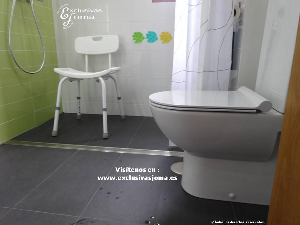 Reformas de baño integrales, acceso a discapacitados,baños discapacitados, baños minusvalidos, desague continuo baños, slutter desagues, exclusivas joma (7)