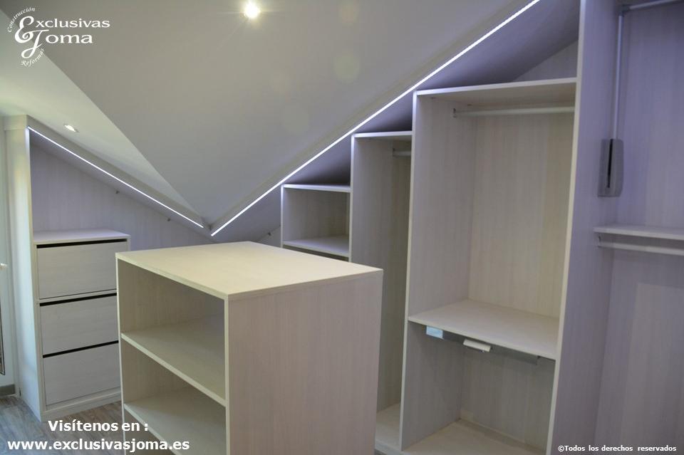 armarios a medida en tres cantos,vestidores en acabado lino cancun por control numerico, reforma integral de chalets, reformando pisos y vestidores (10)