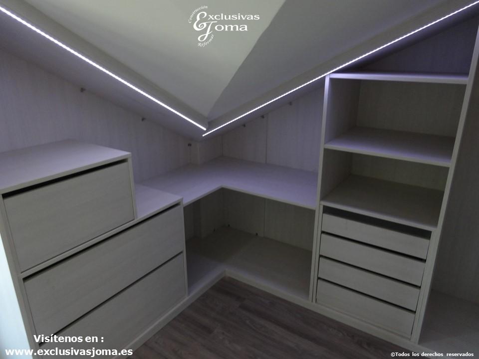 armarios a medida en tres cantos,vestidores en acabado lino cancun por control numerico, reforma integral de chalets, reformando pisos y vestidores (2)