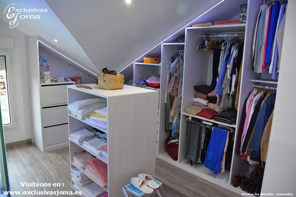 armarios a medida en tres cantos,vestidores en acabado lino cancun por control numerico, reforma integral de chalets, reformando pisos y vestidores (3)