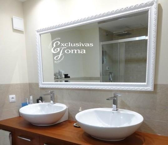 reforma de baño en tres cantos,kyrya muebles de baño, roca saneamientos 3cantos, griferia tres tactil,novellini mamparas, ducha extraplana antideslizante,catalano,geberit,baño vintage 3c (13)