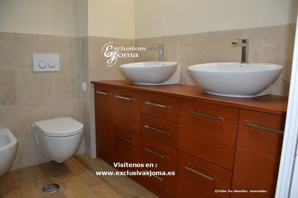 reforma de baño en tres cantos,kyrya muebles de baño, roca saneamientos 3cantos, griferia tres tactil,novellini mamparas, ducha extraplana antideslizante,catalano,geberit,baño vintage 3c (5)