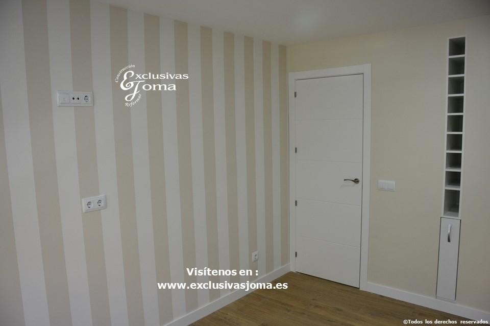 Reforma integral de piso en Tres Cantos en avenida Viñuelas,decoracion y diseño interior,tarima flotante Quick Step,puertas lacadas, ventans en pvc rpt,venacal (10)