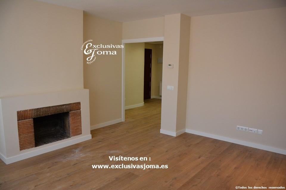 Reformas integrales en interior de pisos en tres cantos for Pintura color topo