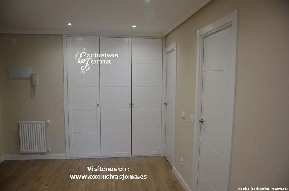 Reforma integral de piso en Tres Cantos en avenida Viñuelas,decoracion y diseño interior,tarima flotante Quick Step,puertas lacadas, ventans en pvc rpt,venacal (15)