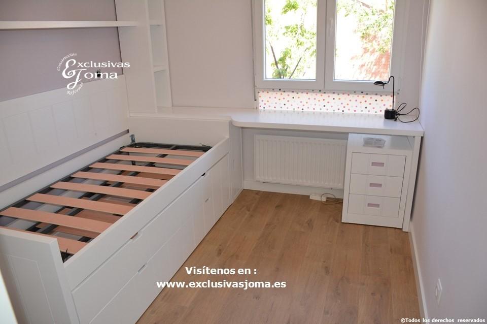 Reforma integral de piso en Tres Cantos en avenida Viñuelas,decoracion y diseño interior,tarima flotante Quick Step,puertas lacadas, ventans en pvc rpt,venacal (4)