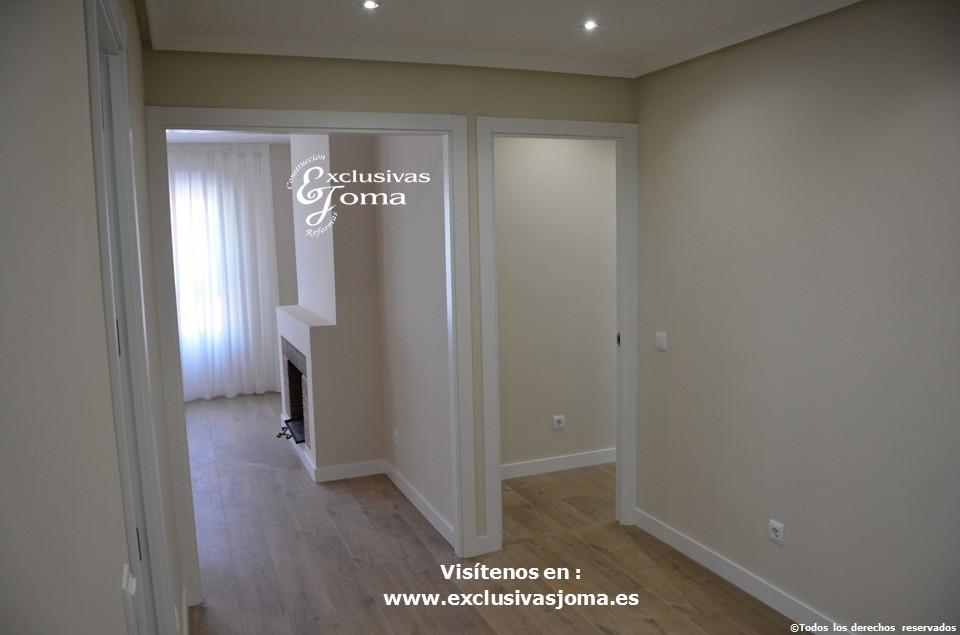 Reforma integral de piso en Tres Cantos en avenida Viñuelas,decoracion y diseño interior,tarima flotante Quick Step,puertas lacadas, ventans en pvc rpt,venacal (6)