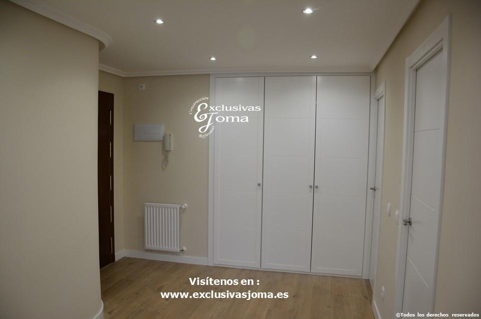 Reforma integral de piso en Tres Cantos en avenida Viñuelas,decoracion y diseño interior,tarima flotante Quick Step,puertas lacadas, ventans en pvc rpt,venacal (8)