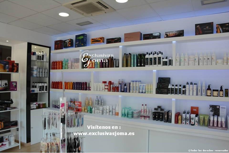 Exclusivas Joma reforma de tienda Hairlab en Tres Cantos, reforma tu local comercial con nosotros, decoracion, interiorrismo y reforma todo en uno