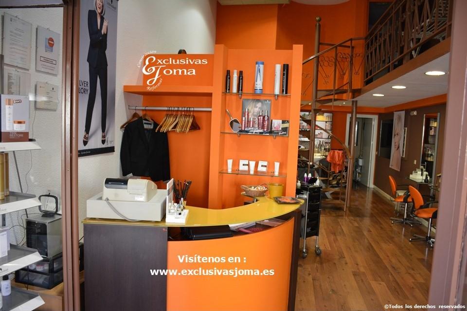 Reforma de tienda Peluqueria Maria Jose Piñarro en Tres Cantos, decoracion de locales y asesoramiento,presupuesto sin compromiso