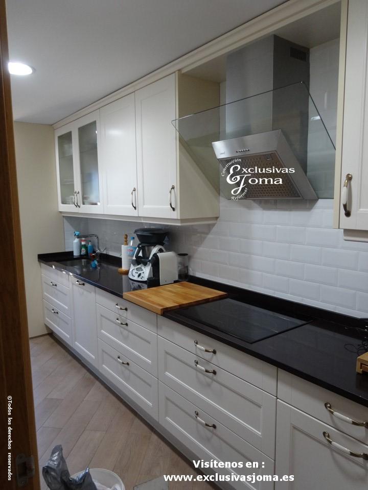 Reformas integrales de cocinas en tres cantos muebles de - Medida encimera cocina ...