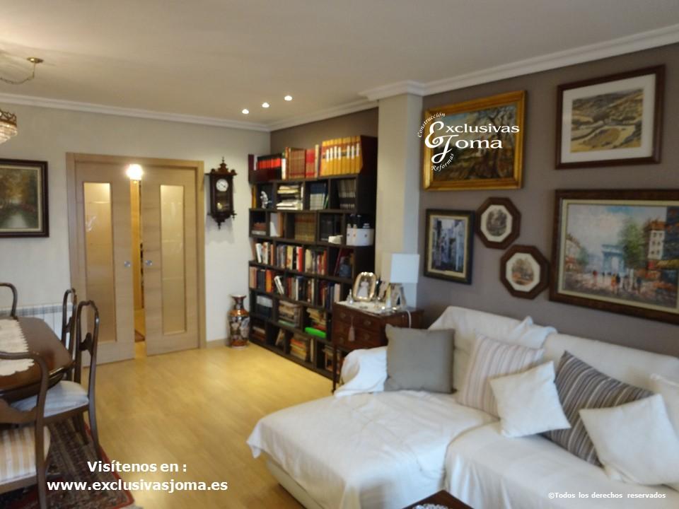 Reformas integrales en interior de pisos en tres cantos for Decoracion dormitorios piso flotante